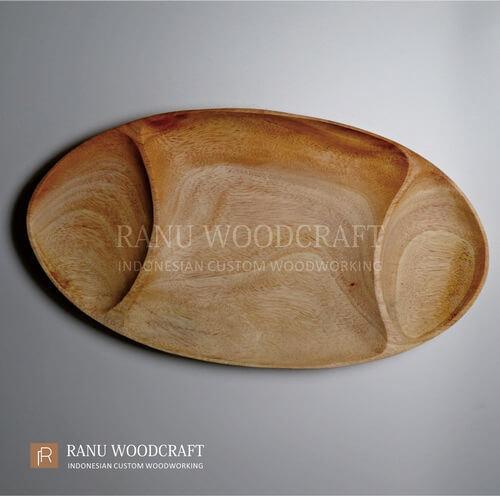 piring kayu sekat ruang a