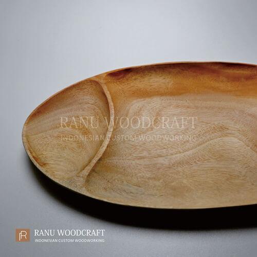 piring kayu sekat ruang