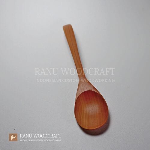 sendok makan korea kayu a