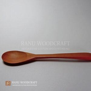 sendok makan korea kayu b