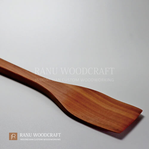sutil kayu kotak persegi panjang