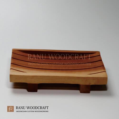 tempat sabun kayu model a 1