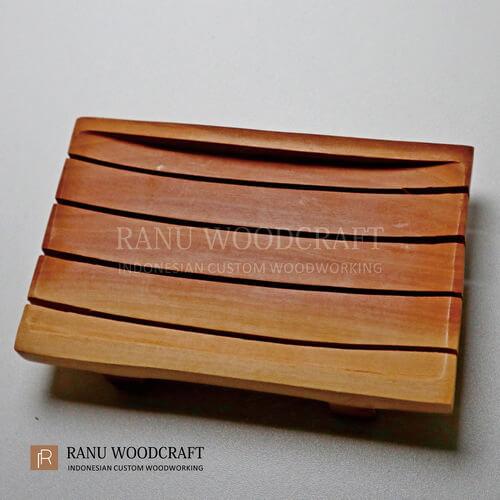 tempat sabun kayu model a 2