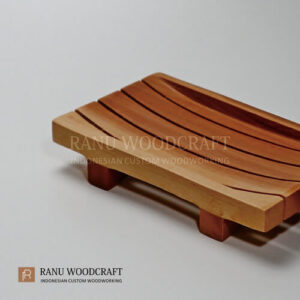 tempat sabun kayu model a